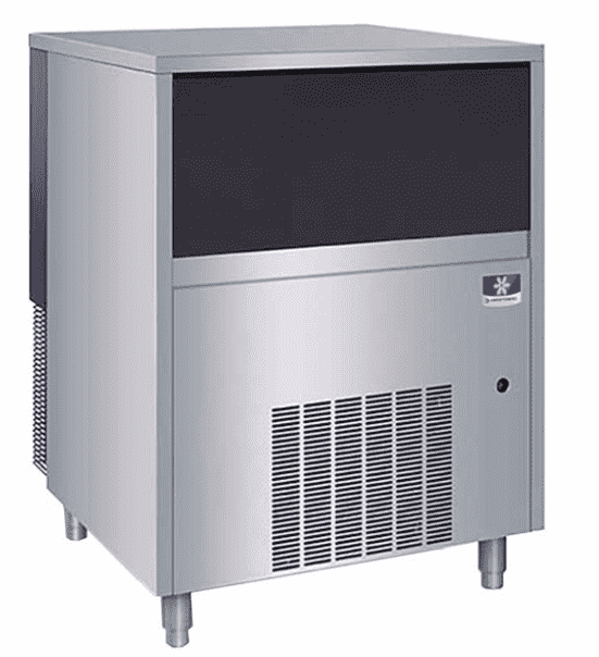 "Manitowoc UNF0300A 29"" Air Cooled Undercounter Nugget Ice Machine with 50 lb. Bin - 300 lb."
