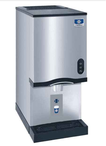 "Manitowoc CNF0201A NEO 16 1/4"" Air Cooled Countertop Nugget Ice Maker / Dispenser - 10 lb. Bin with Sensor Dispensing"