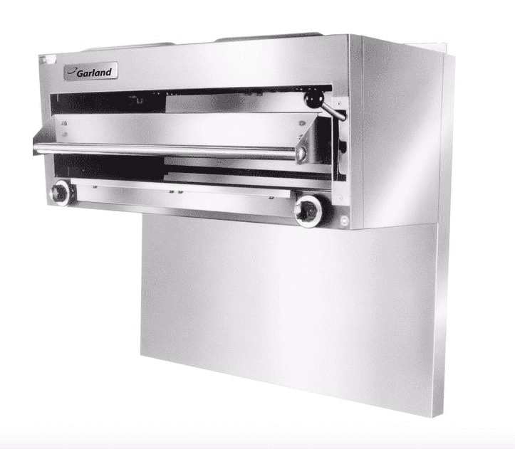 Garland GIR60 Natural Gas Range-Mount Infra-Red Salamander Broiler for G60 Series Ranges - 40,000 BTU