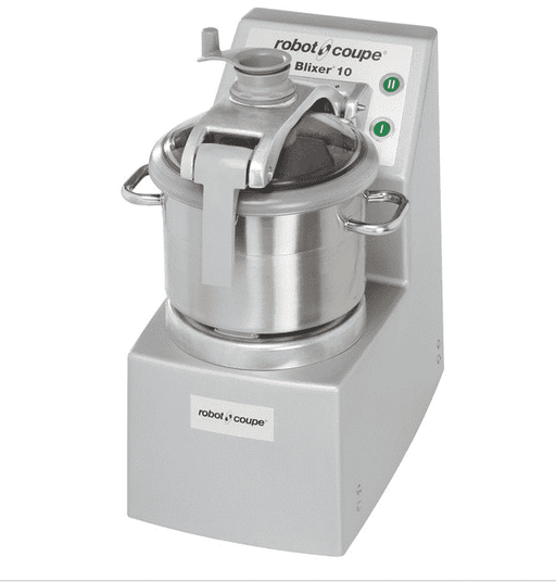 Robot Coupe Blixer 10 Food Processor with 10 Qt. Stainless Steel Bowl and Two Speeds - 3 1/2 hp