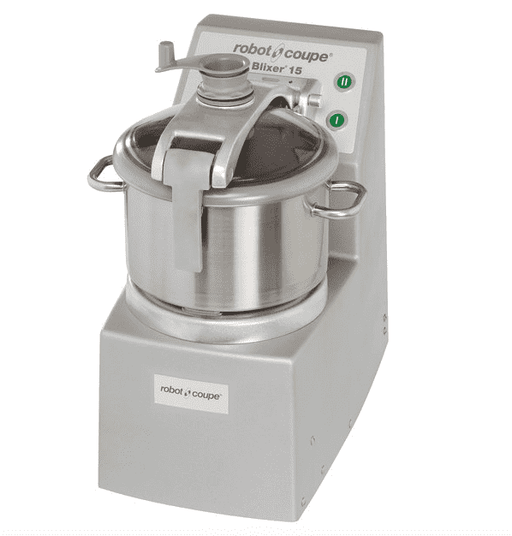 Robot Coupe Blixer 15 Food Processor with 15 Qt. Stainless Steel Bowl and Two Speeds - 4 hp