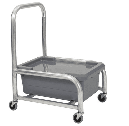 Robot Coupe R198 Stainless Steel Food Box Cart
