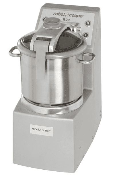 Robot Coupe R20 Vertical Food Processor with 20 Qt. Stainless Steel Bowl - 5 1/2 hp