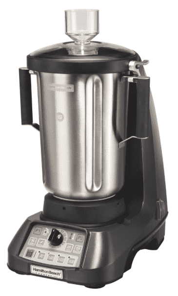 Hamilton Beach HBF1100S-CE Expeditor 3 1/2 hp 1 Gallon Variable Speed Blender - 230V, International Use Only