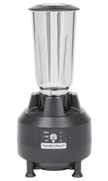 Hamilton Beach HBB909 1/2 hp Commercial Bar Blender with 32 oz. Stainless Steel Container
