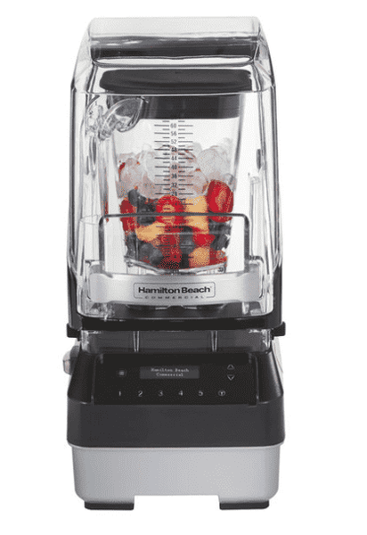 Hamilton Beach HBH950 Quantum High Performance Blender with Touchpad Controls, Adjustable Speed, 64 oz. Polycarbonate Container, and Sound Enclosure - 120V