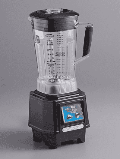 Waring TBB145P6 2 hp Torq 2.0 Commercial Blender with Toggle Switches and 64 oz. Copolyester Jar - 120V, 1500W
