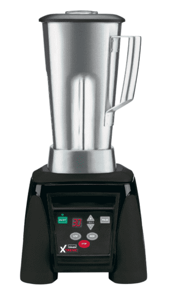 Waring MX1100XTS Xtreme 3 1/2 hp Commercial Blender with Electronic Keypad and 64 oz. Stainless Steel Container