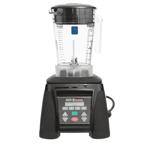 Waring MX1300XTXP Xtreme 3 1/2 hp Commercial Blender with Programmable Keypad, Adjustable Speed, and 48 oz. Copolyester Container