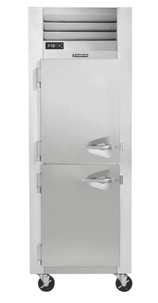 Traulsen G10001 Half Door Reach In Refrigerator - Left Hinged Doors