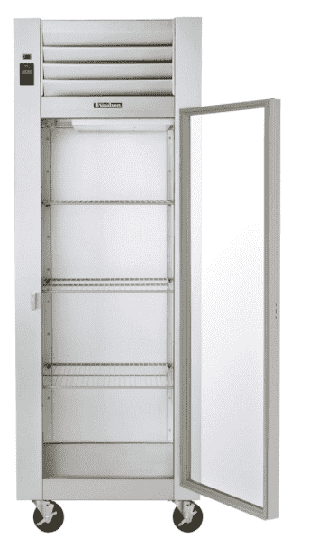 "Traulsen G11010 30"" G Series Reach In Refrigerator with Right-Hinged Glass Door"