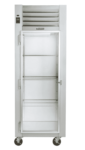 "Traulsen G11011 30"" G Series Reach In Refrigerator with Left-Hinged Glass Door"