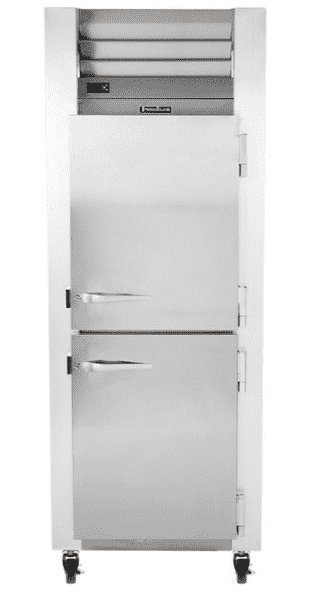 Traulsen G12000 Half Door Reach In Freezer - Right Hinged Doors
