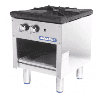 Turbo Air TASP-18 1 Burner Stock Pot Range, Natural Gas