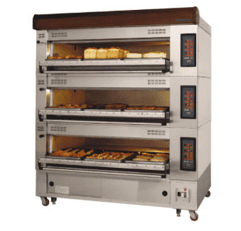 Turbo Air RBDO-33 European Triple Deck Pizza Oven, 220v/3ph