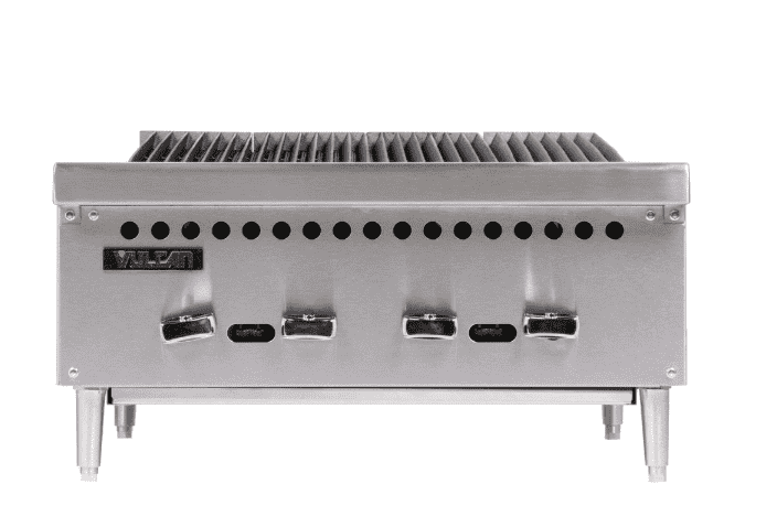 "Vulcan VCRB25-1 Natural Gas 25"" Low Profile Radiant Charbroiler - 58,000 BTU"