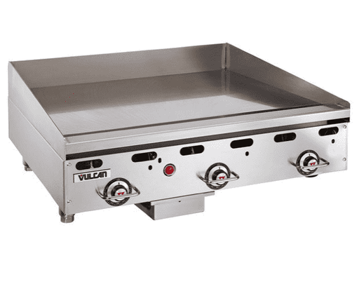 "Vulcan MSA36 36"" Gas Griddle w/ Thermostatic Controls - 1"" Steel Plate, Natural Gas"
