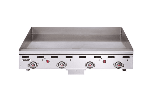 "Vulcan MSA48 48"" Gas Griddle w/ Thermostatic Controls - 1"" Steel Plate, Natural Gas"
