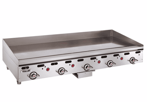 "Vulcan MSA60 60"" Gas Griddle w/ Thermostatic Controls - 1"" Steel Plate, Natural Gas"