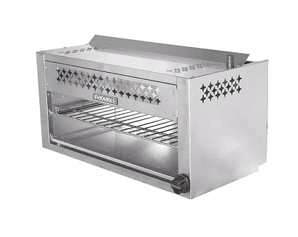 "Turbo Air TACM-48 - Radiance Cheesemelter, 48"" wide, stainless steel front & sides"