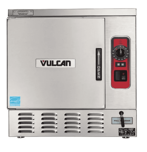 Vulcan C24EA5-LWE (5) Pan Convection Steamer - Countertop, 208v/3ph
