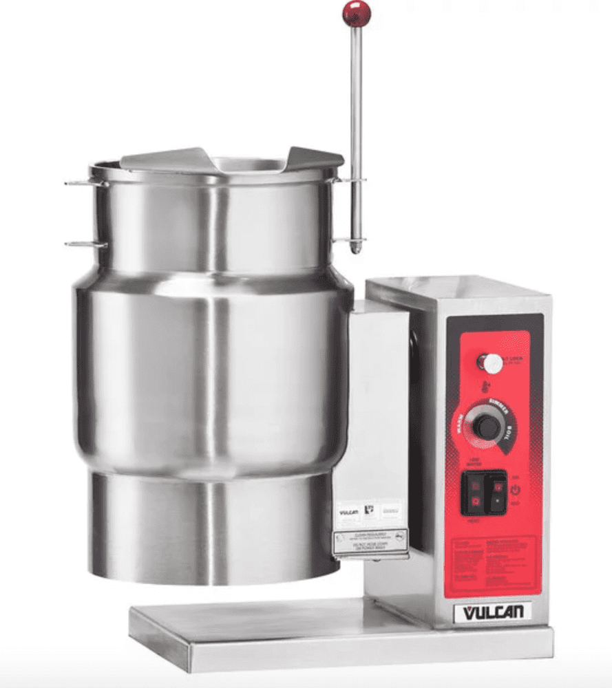 Vulcan K12ETT-7 12 Gallon Tilting Electric Steam Jacketed Kettle - 12 kW, 208V
