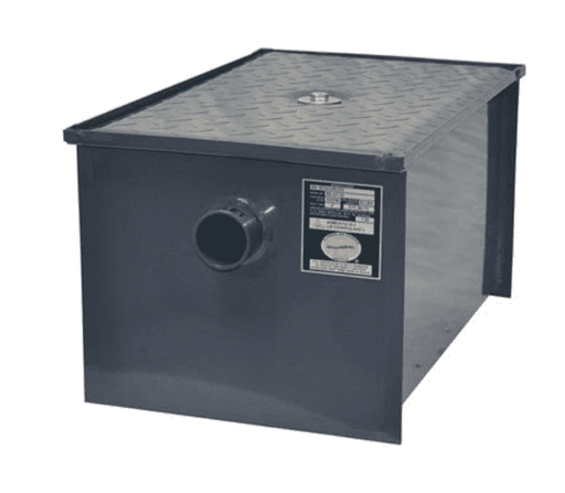BK Resources: BK-GT-14: 14LB/7GPM GREASE TRAP