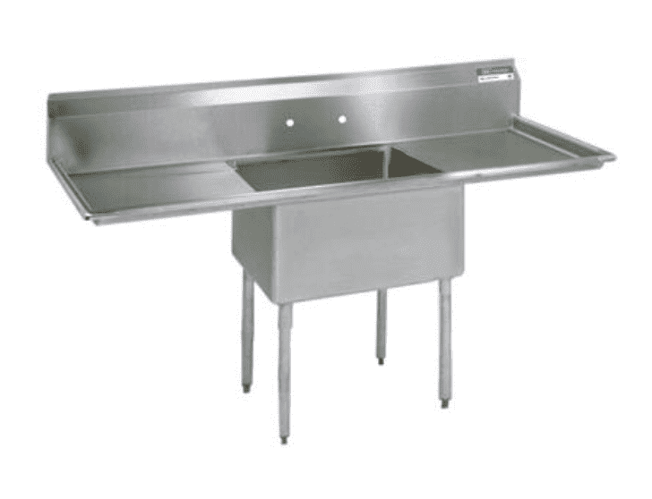 "BK Resources: BKS-1-1824-14-24T: 1 COMP SINK 18X24X14D 2-24"" DB"