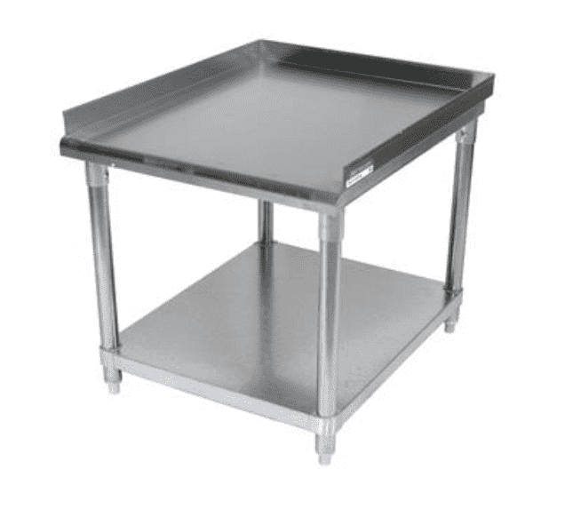 "BK Resources: VETS-7230: 72"" X 30"" T-430 18 GA EQUIPMENT STAND"