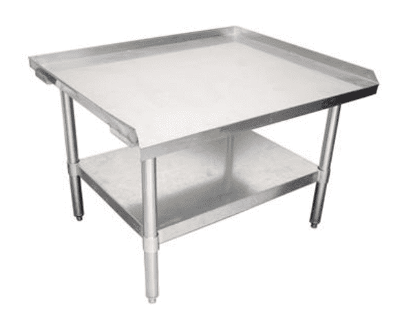 BK Resources: EETS-2430: 24 X 30 ECONOMY EQUIPMENT STAND, 18 GA. T-430