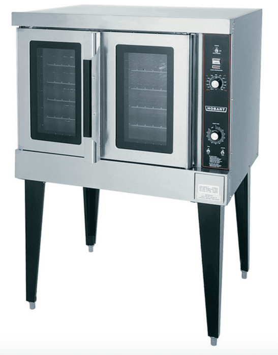 Hobart HEC501 Single Deck Full Size Electric Convection Oven - 208V, 1 Phase, 12.5 kW