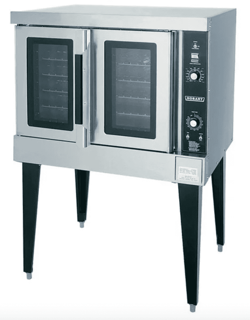 Hobart HGC501 Natural Gas Single Deck Full Size Convection Oven - 50,000 BTU