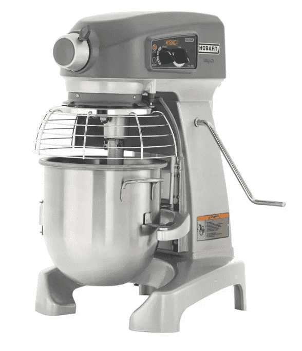 Hobart HL120-1STD 12 qt Planetary Mixer - Bench Model, 1/2 hp, 100-120v