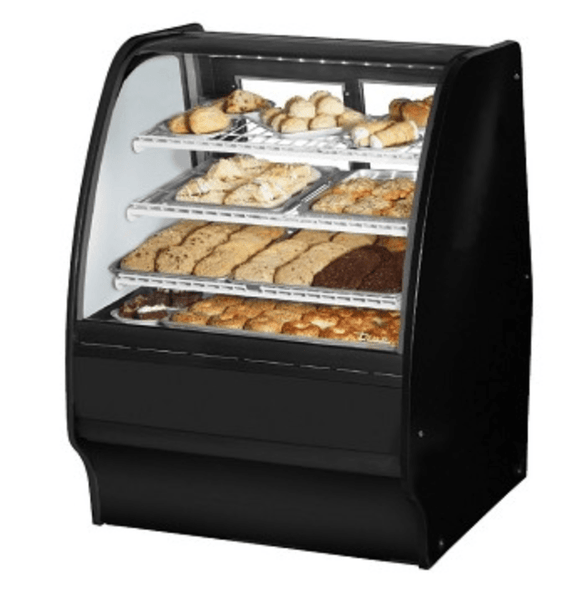 True TGM-DC-36-SM/SM-W-W Display Case, Non-Refrigerated Bakery