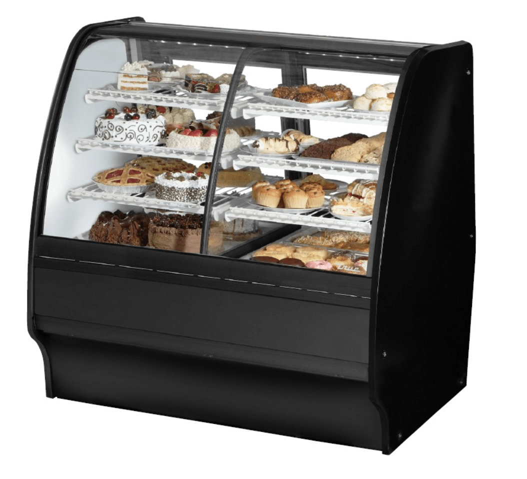 True Manufacturing Co., Inc. Model No. TGM‐DZ‐59‐SC/SC‐W‐W DISPLAY CASE, REFRIGERATED/NON‐REFRIG
