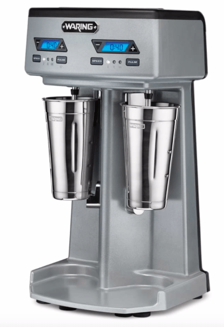 Waring WDM240TX Double Spindle Drink Mixer - (3) Speed, 120v