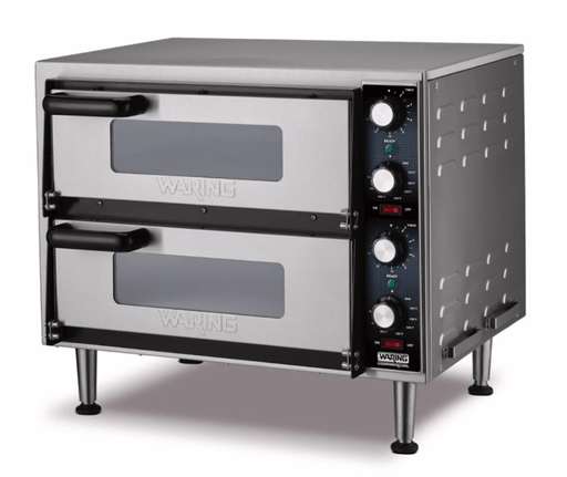 Waring WPO350 Countertop Pizza Oven - Double Deck, 240v/1ph
