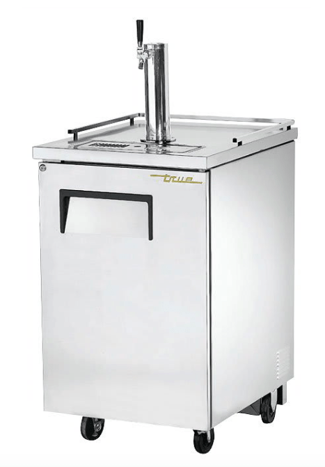 "True TDD-1-S-HC 24"" Draft Beer System w/ (1) Keg Capacity - (1) Column, Stainless, 115v"