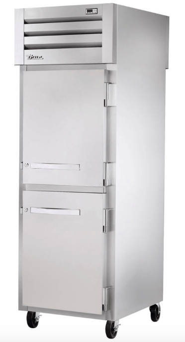 "True STA1F-2HS-HC 27"" Single Section Reach In Freezer, (2) Solid Door, 115v"