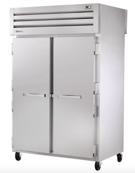 "True STA2F-2S-HC 52"" Two Section Reach-In Freezer, (2) Solid Door, 115v"