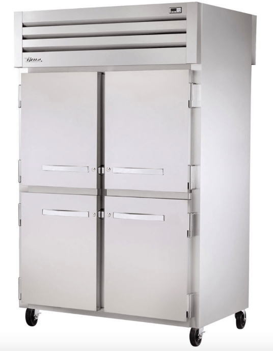 "True STA2F-4HS 52"" Two Section Reach-In Freezer, (4) Solid Door, 115v"