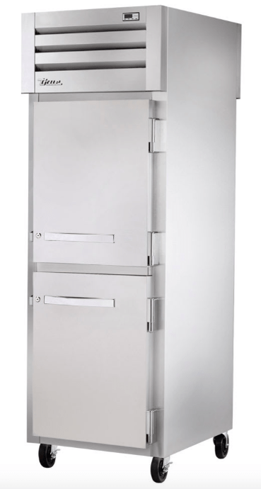 "True STG1F-2HS-HC 27"" Single Section Reach In Freezer, (2) Solid Door, 115v"