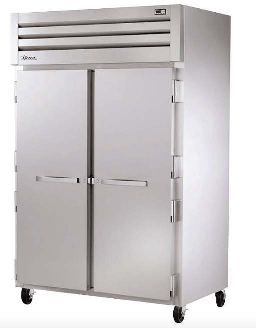 "True STG2F-2S 53"" Spec Series® Two Section Reach-In Freezer, (2) Solid Doors, 115v"