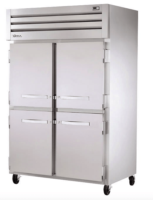 "True STG2F-4HS 52"" Two Section Reach-In Freezer, (4) Solid Doors 115v"