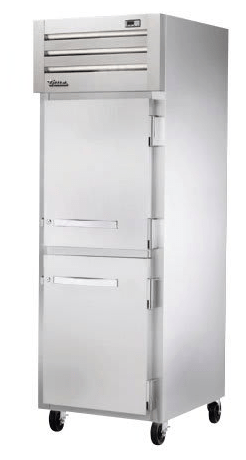 "True STR1F-2HS-HC 27"" Single Section Reach In Freezer, (2) Solid Doors, 115v"