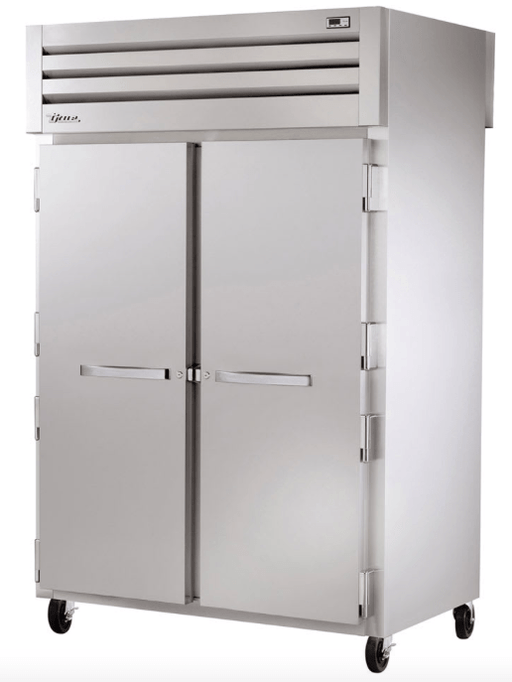 "True STR2F-2S 52"" Two Section Reach-In Freezer, (2) Solid Doors, 115v"