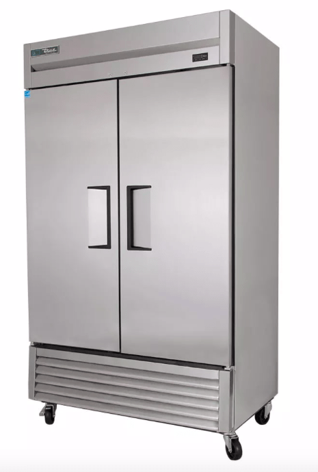 "True T-43F-HC 47"" Two Section Reach-In Freezer, (2) Solid Doors, 115v"