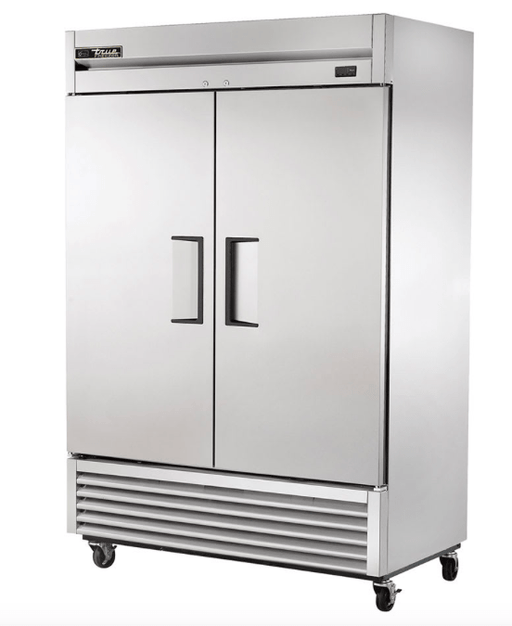 "True T-49F-HC 54"" Two Section Reach-In Freezer, (2) Solid Doors, 115v"