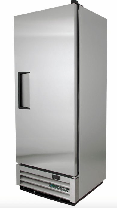 "True T-12F-HC 25"" Single Section Reach-In Freezer, (1) Right Hinge Solid Door, 115v"