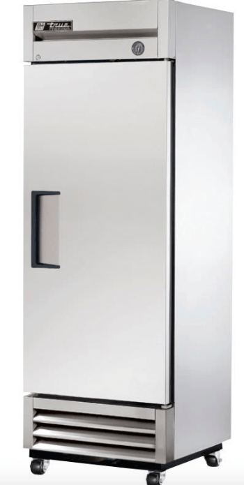 "True T-19F-HC 27"" Single Section Reach-In Freezer w/ (1) Right Hinge Solid Door, 115v"